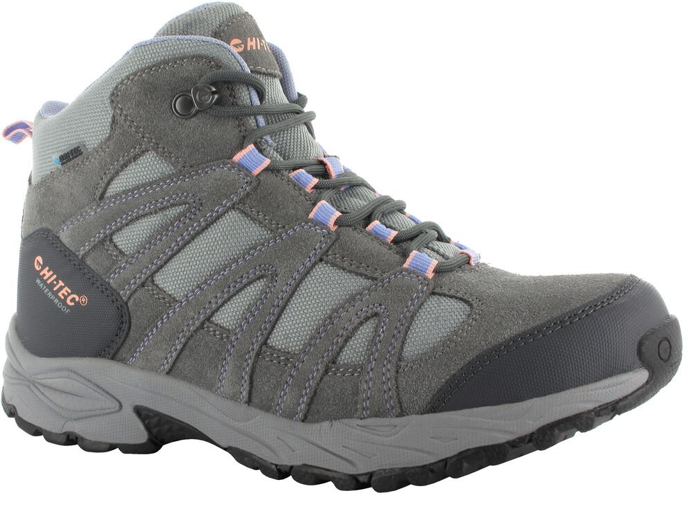 Hi-Tec Alto II Mid WP Shoes Women Steel Grey/Grey/Lichen 37 2017 Trekking- & Wanderschuhe nEKwn